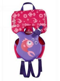 Stearns Puddle Jumper Life Jacket Hydroprene Infant pink/pur