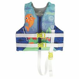 Coleman Purple Seahorse Stearns Hydroprene Child Life Vest