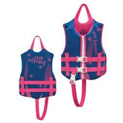 Full Throttle Rapid-Dry Life Vest - Child 30-50lbs - Blue/Pi
