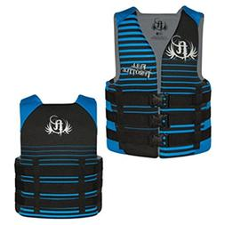 Full Throttle Rapid-Dry Life Vest - Teen 90lbs & Over - Blac