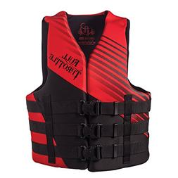 Full Throttle Rapid Dry PFD - Adult S/M - Red/Black