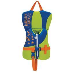 Full Throttle Infant Rapid Dry Pfd Blue/Lime Green