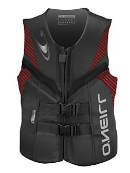O'Neill  Men's Reactor USCG Life Vest, Graphite/Red/Black,XX