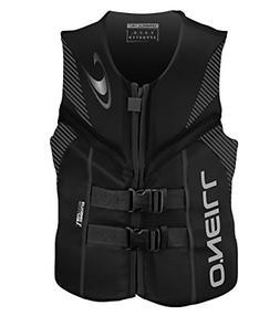 O'Neill  Men's Reactor USCG Life Vest, Black/Black/Black,XX-