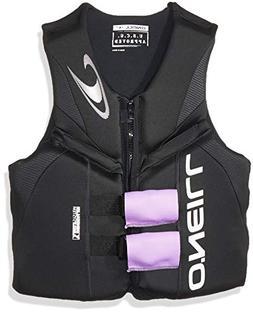 O'Neill  Men's Reactor USCG Life Vest, Black/Black/Black,Sma