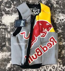 RED BULL ATHLETE COMP VEST - small - LIFE JACKET WAKEBOARDIN