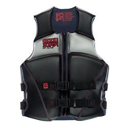 Liquid Force Reflex Adult Life Vest 2015 Medium Black/Red