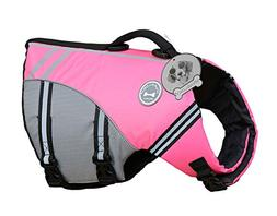 Vivaglory New Sports Ripstop Dog Life Jacket with Superior B