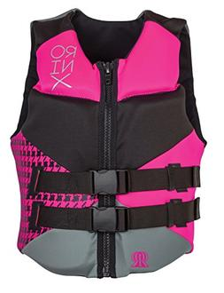 Ronix Daydream Front Zip CGA Life Vest Women's - Size  - Bla