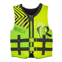 Ronix Vision Boy's Front ZIp CGA Vest Youth  Kid's Life Jack