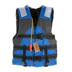 Lixada Adult Safety Life Jacket Survival Vest with Adjustabl