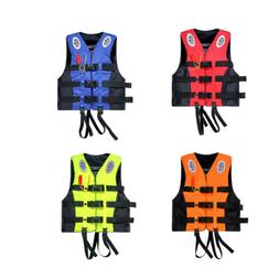 Safety Life Jacket Survival Vest Swimming Boating Fishing Dr