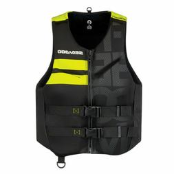 Sea-Doo 2867611210 Men's XL Freedom PFD Life Jacket - Black/