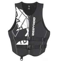 Sea-Doo BRP Men's Neoprene Freedom PFD Life Jacket Vest X-La