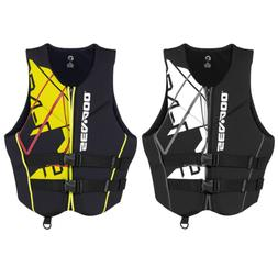 Sea Doo Freedom Mens Neoprene Life Jacket Seadoo Jet Ski Neo