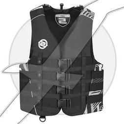 Sea Doo Vibe Mens Nylon Life Jacket Seadoo Jet Ski Waterski
