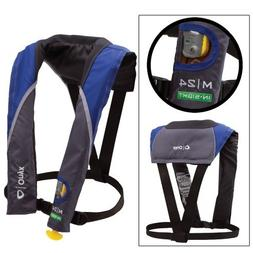 1 - Onyx M 24 In-Sight Manual Inflatable Life Jacket - Blue