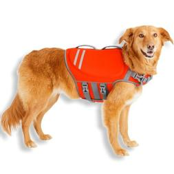 size xs dog life jacket neoprene safety