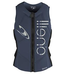 O'Neill Women's Slasher Comp Life Vest, Mist/Graphite, 10