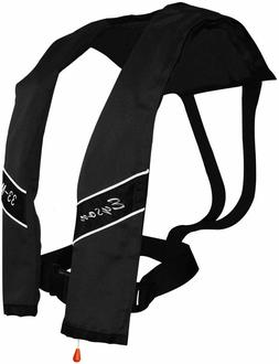 Slim Inflatable Life Jacket Life Vest PFD Manual for Adults