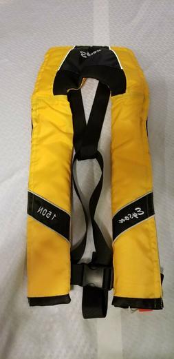 jacket vest slim inflatable pfd automatic adult eyson