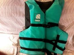 Kent Sporting Goods 3 Strap Life Jacket Adult Super Large. N