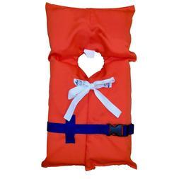 Coleman Stearns Adult or Child Type II Life Jacket, Orange B