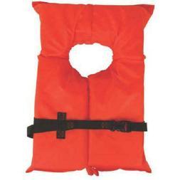 Coleman Stearns Adult Type II Life Jacket, Orange Life Vest