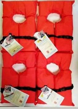 Stearns Adult Type II Series Life Jacket *4 PACK* BOATING Co