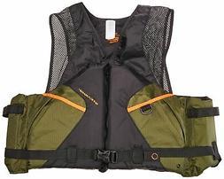 Stearns Pfd 2220 Cmft Fishing Xl Grn C004 2000013803