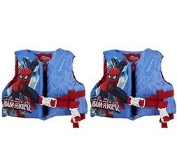 Coleman Stearns Spiderman Infant Pool Lake Life Jacket w/ Re