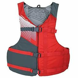 Stohlquist Life Jackets & Vests Fit Jacket, Red/Gray Sports