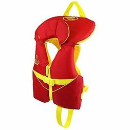 Stohlquist Life Jackets & Vests Infant PFD 8-30 Lbs, Red/Yel