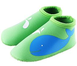 SUIEK Unisex Baby Infant Swim Shoes Water Shoes Beach Shoes