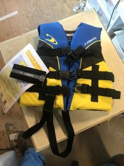 O'Neill  Child Superlite USCG Life Vest,Pacific/Yellow/Black