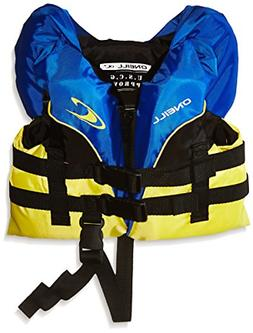 O'Neill Infant Superlite USCG Life Vest, Pacific/Yellow/Blac