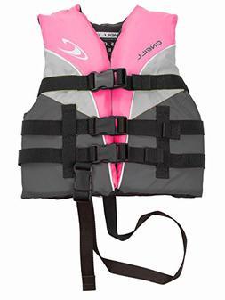 O'Neill Superlite Child USCG life vest  Berry/graphite/smoke