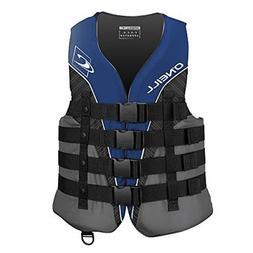 O'Neill  Men's Superlite USCG Life Vest, Pacific/Smoke/Black