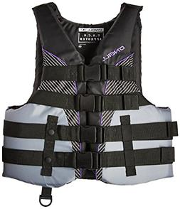 O'Neill   Women's SuperLite USCG Life Vest,Black/Smoke/Black