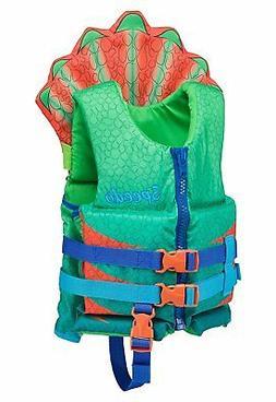 Speedo Supersaurus Personal Life Jacket, Seaweed, One Size