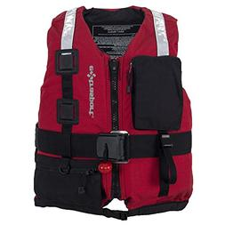 Extrasport Swiftwater Fury Rescue Lifejacket-Red-XL