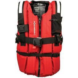 Extrasport Swiftwater Ranger Life Jacket - Red XL