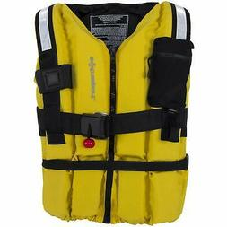 Extrasport Swiftwater Ranger Rescue Lifejacket-Yellow-L