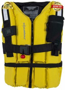 Extrasport Swiftwater Ranger Rescue Lifejacket-Yellow-M