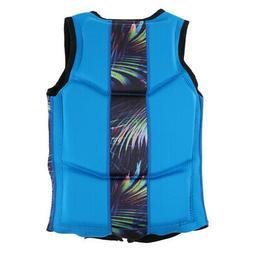 Swim Trainer Vest Diving Wetsuit Swimming Life Jacket Vest f