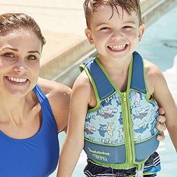 SwimSchool Swim Trainer Vest, Adjustable Safety Strap, Easy