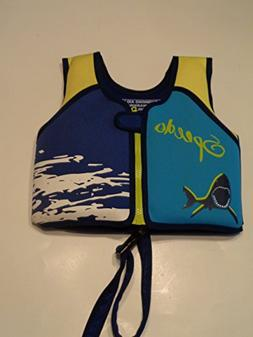 Swim UV Printed Neoprene Swim Vest Life Jacket Flotation Aid
