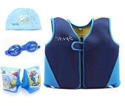 Genwiss Baby Boys Swim Vest Swim Float, Training Jacket Age