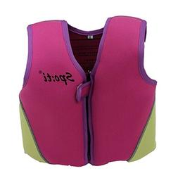 Swim Vest Learn-to-Swim Floatation Jackets For Kids Life Ves