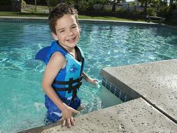 Brand New Life Jacket Vest Child Shark Fin SeaSquirt Swim Wa